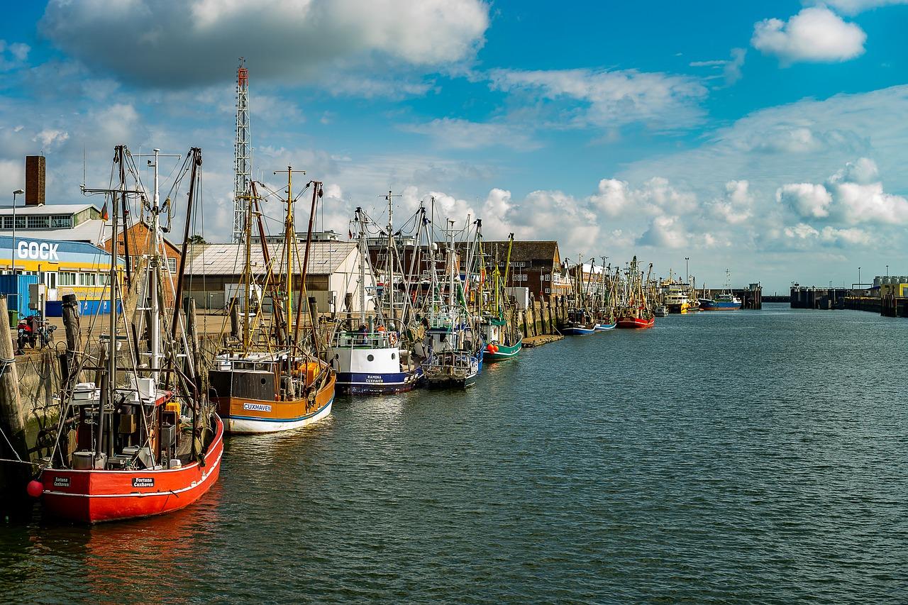 Hafenstadt Cuxhaven | Weserradtour